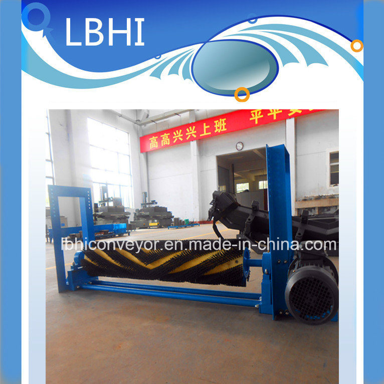 High-Quality Electric Brush Cleaner/ Nylon Brush Roller for Belt Conveyor pictures & photos