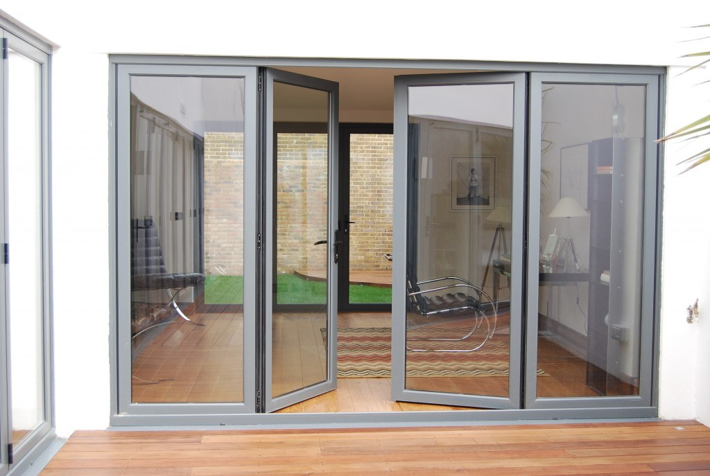 China Thermal Break Folding Door With Germany Hardware And Insulated