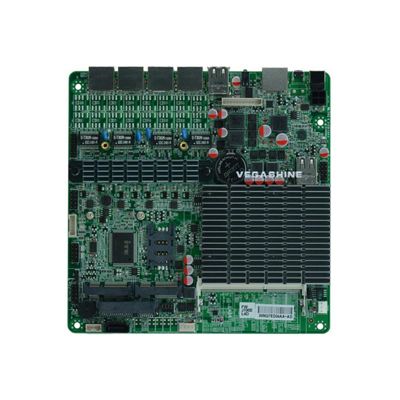 [Hot Item] 4 LAN J1900 Quad Core Pfsense Firewall Thin Mini Itx Motherboard