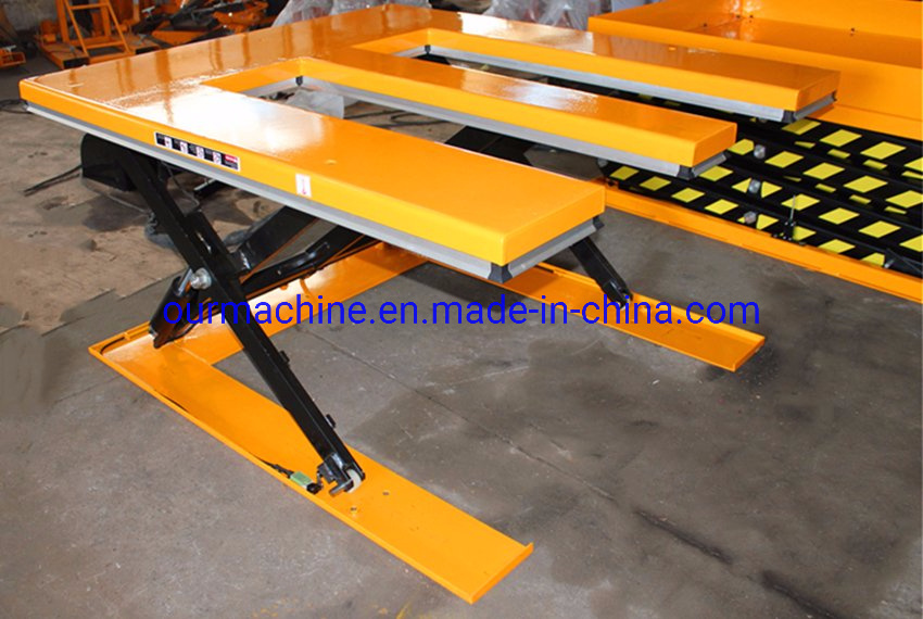 China 1000kg Low Profile Powered Scissor Lift Table with E