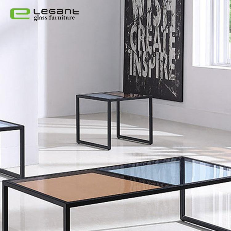 China Living Room Furniture Tempered, Glass Living Room Furniture