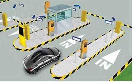 China Smart Card Barrier Gate Parking Management System Abnm-PS01 - China  Abnm-PS01, Smart Car Parking Barrier