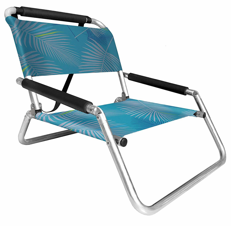 Hot Item Caribbean Joe Cj 7710rwbst One Position Folding Beach Chair Red White Blue Stripe