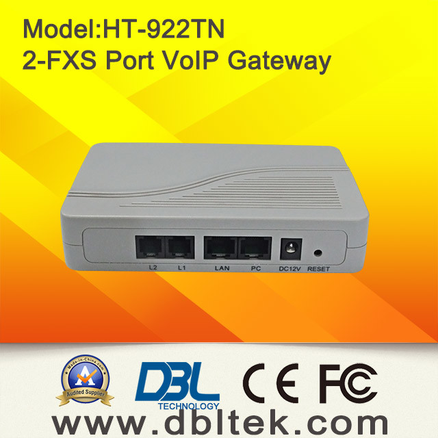 2 FXS VoIP Gateway (HT-922) (HT-922T) pictures & photos