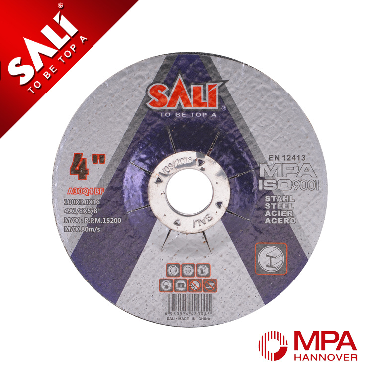 China 100316 Abrasive Metal Cutting Grinding Disc With Mpa