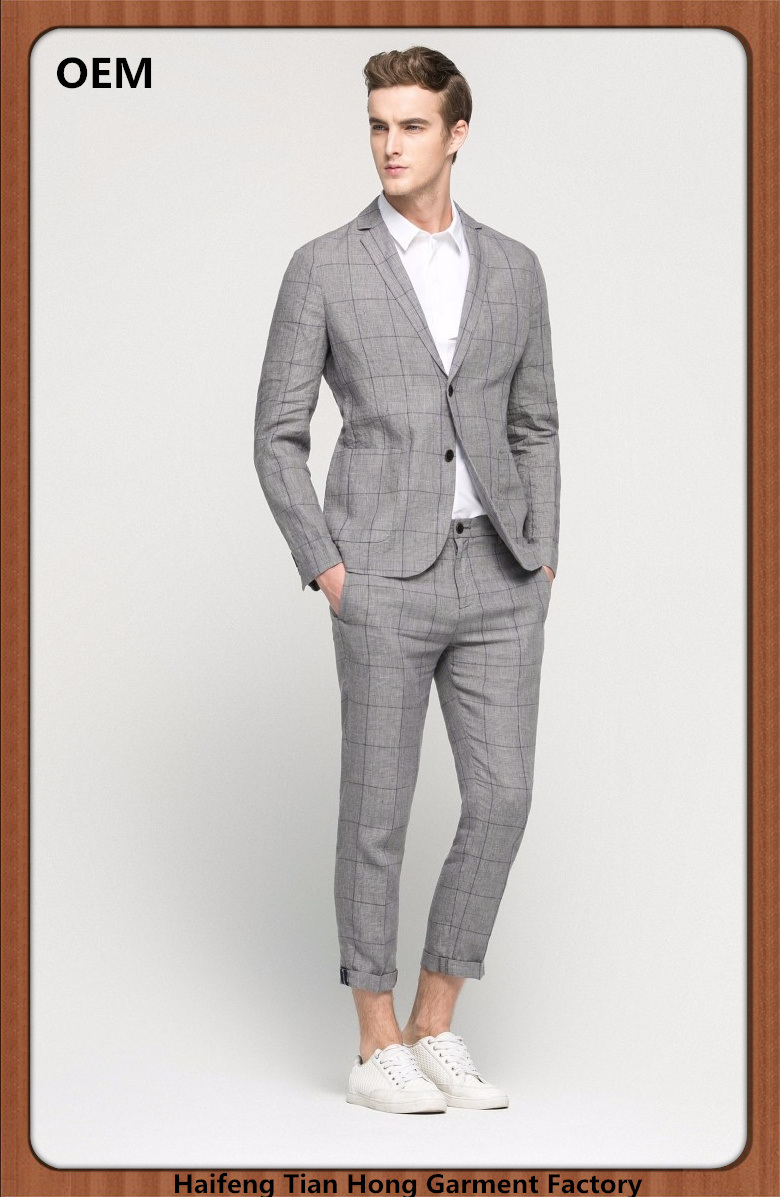 China Best Selling New Design Fashion Casual Coat Pants Men Suits China Suits And Men Suits Price