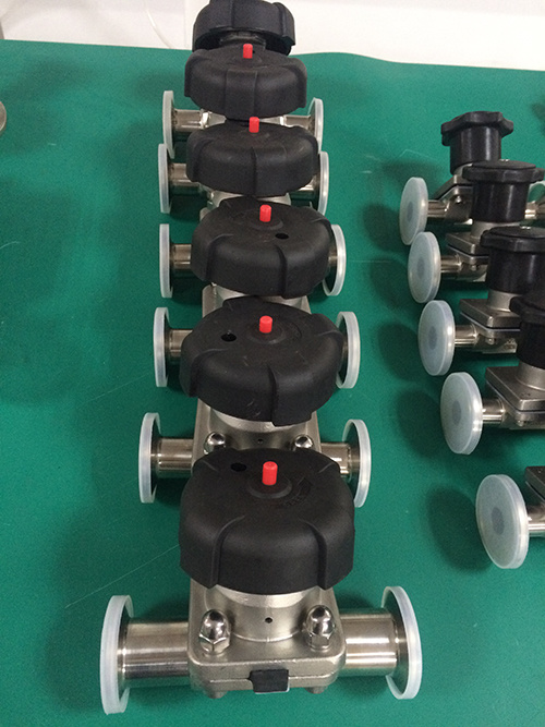 Pneumatic Sanitary Diaphragm Valve Kt pictures & photos