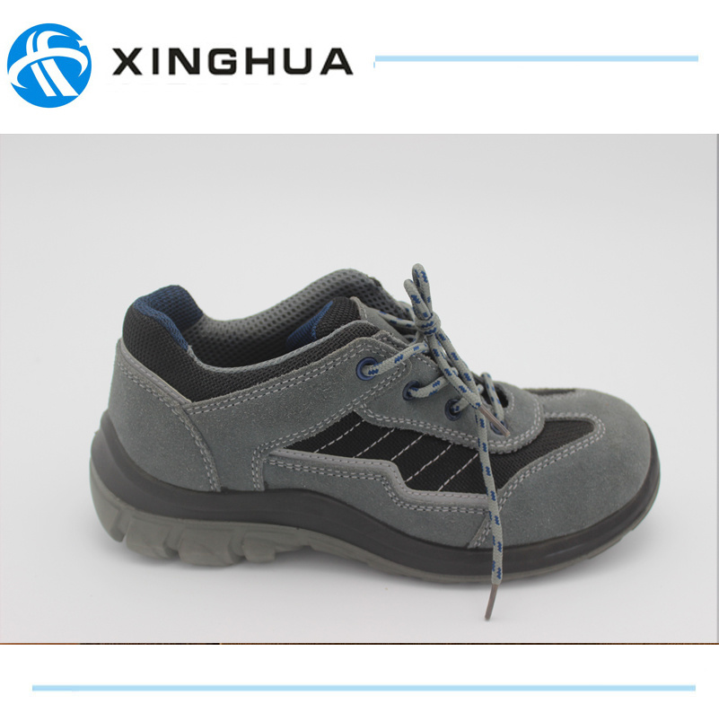 Leather Sole Cheap Work Safety Shoe