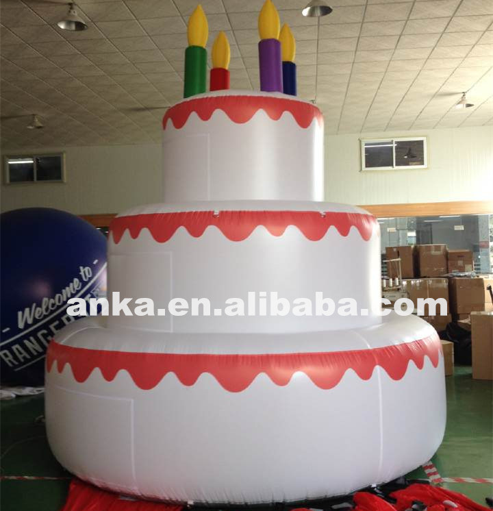 Fine China Giant Advertising Inflatable Birthday Cakes Model Photo Personalised Birthday Cards Bromeletsinfo