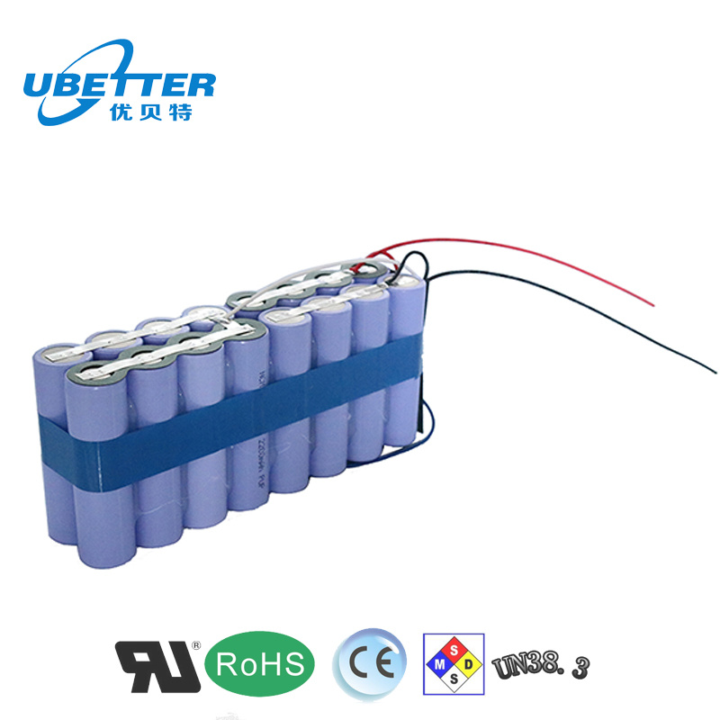 Rechargeable 18650 14.8V 10ah Li Ion Battery for Laptop