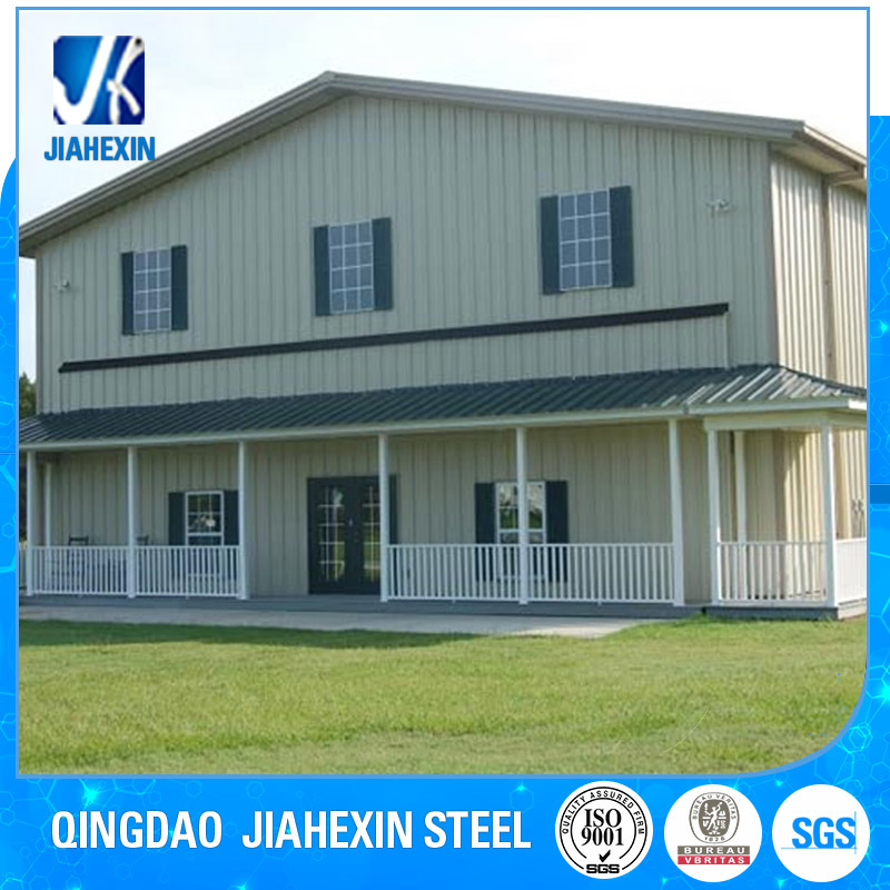 China Factory New Pre-Engineered Prefabricated Light Steel Structure House and Villas pictures & photos