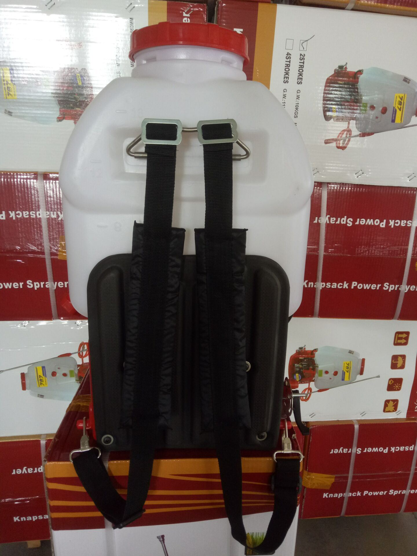 Agricultural Machinery Knapsack Gasoline Power Sprayer 909