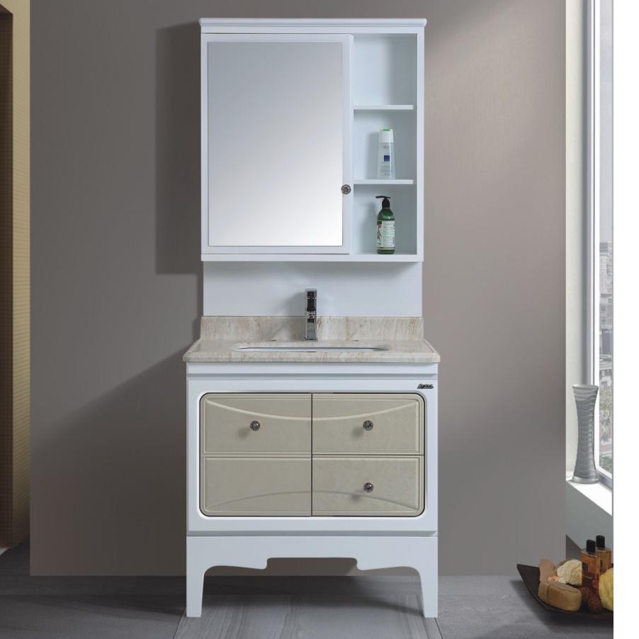 China Good Quality PVC White 6cm Bathroom Furniture - China