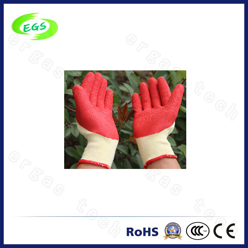 10g Polyester/ Nylon Liner Nitrile Half Coated Gardening Hand Protection Work Glove