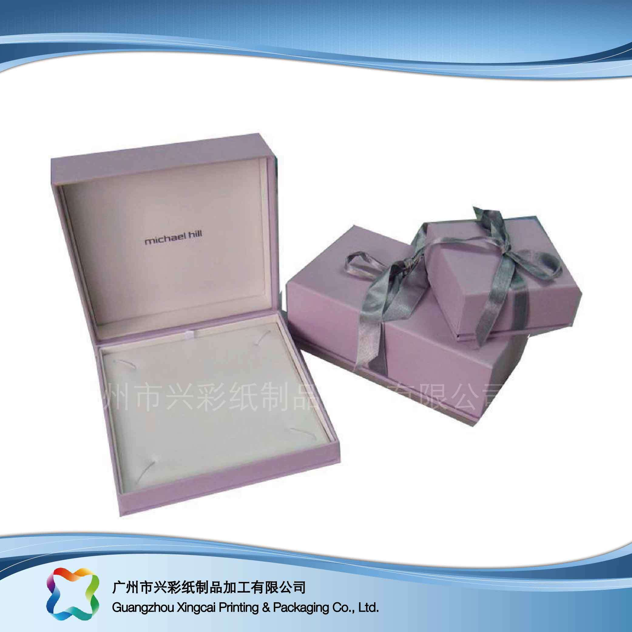 Hot Item Korean Fashion Jewelry Box Custom Jewelry Gift Paper Display Packaging Box Xc Hbj 012