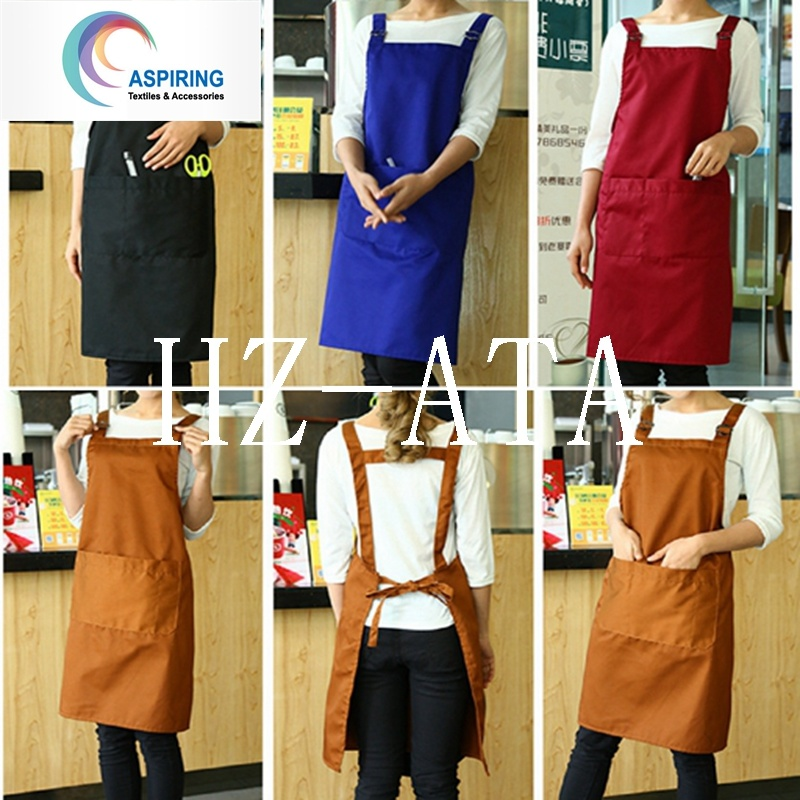 100% Cotton Solid Color Work Apron pictures & photos