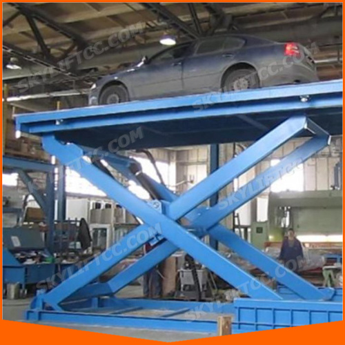 Garage Car Scissor Lift pictures & photos