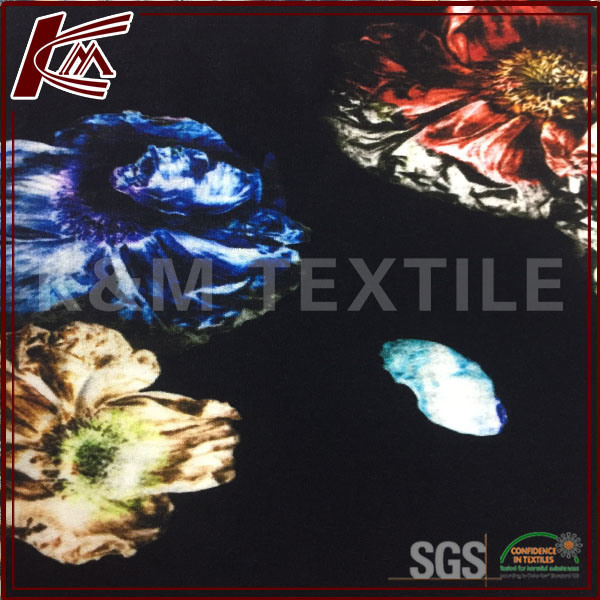 Wholesale High Quality Plain Printed 100% Viscose Fabric for Woman Cloth pictures & photos