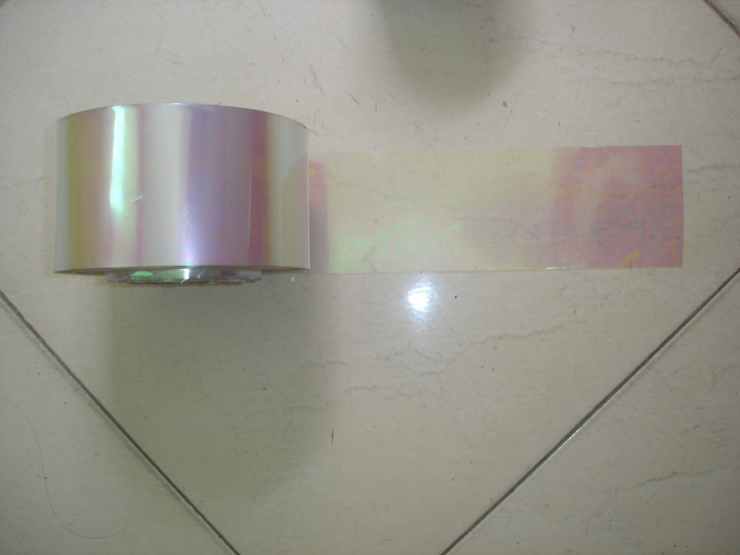Metallic PVC Film