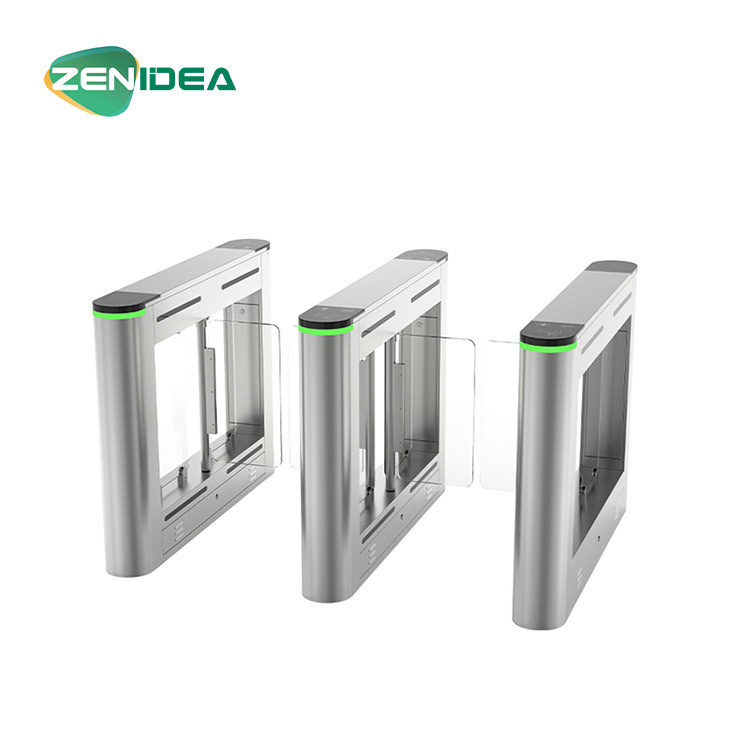 Temperature Detector Face Recognition Device in Turnstile Gate