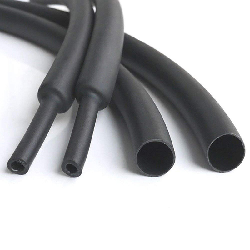 2 Metres x 3.2mm Black Heat Shrink Tubing Wire//Cable Electrical Sleeve