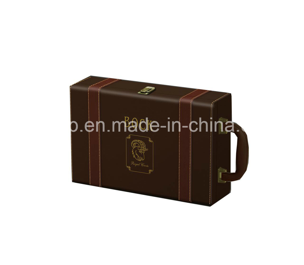 Leather Wine Carrier >> China Pu Leather Popular Wine Carrier Faux Leather Wine Holder