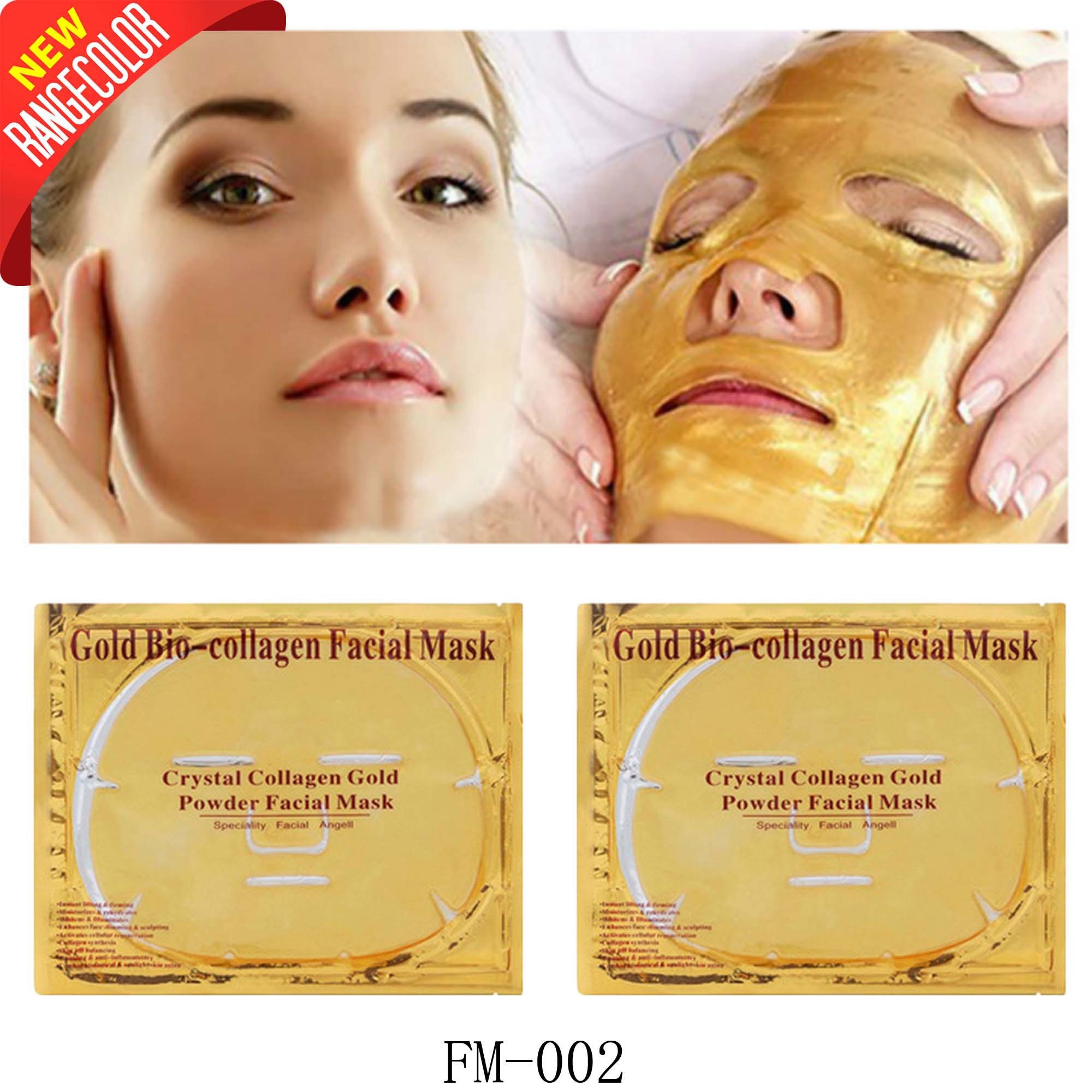 Top Anti-Wrinkle Firming 24K Gold Collagen Crystal Mask pictures & photos