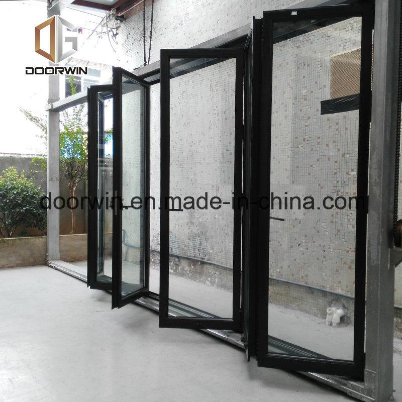 China Usa Quality Thermal Break Aluminum Bifold Glass Door China