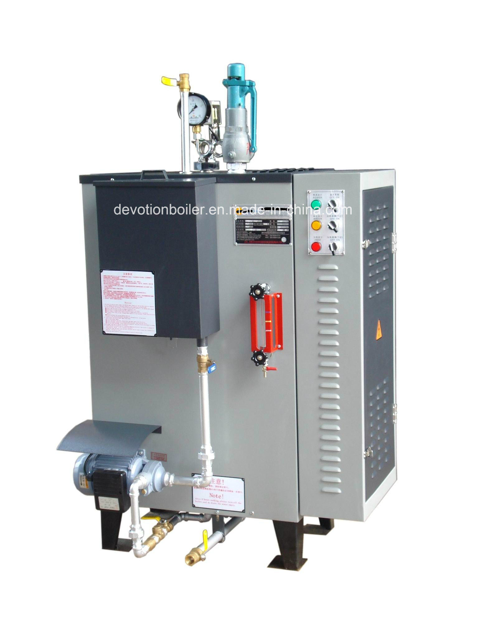 China Small Dimensions & Quick Install 50 Kg H Electric Steam