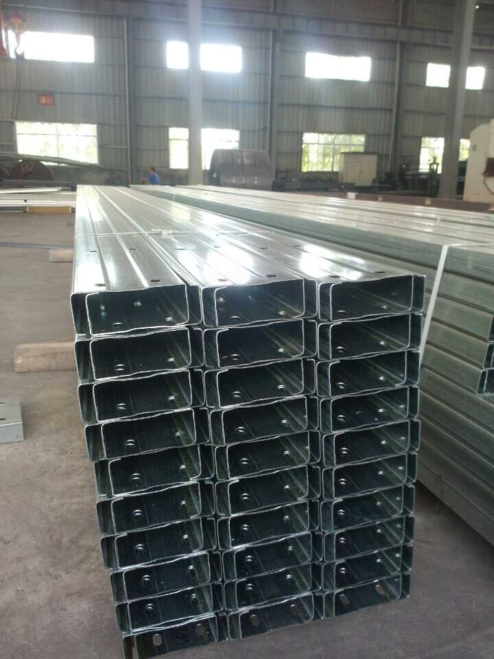Light Weight Pre-Punched C Purlins