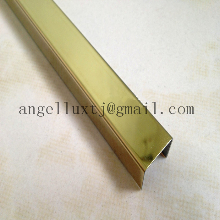 China High Quality Stainless Steel U Trim Ceramic Tile Accessories