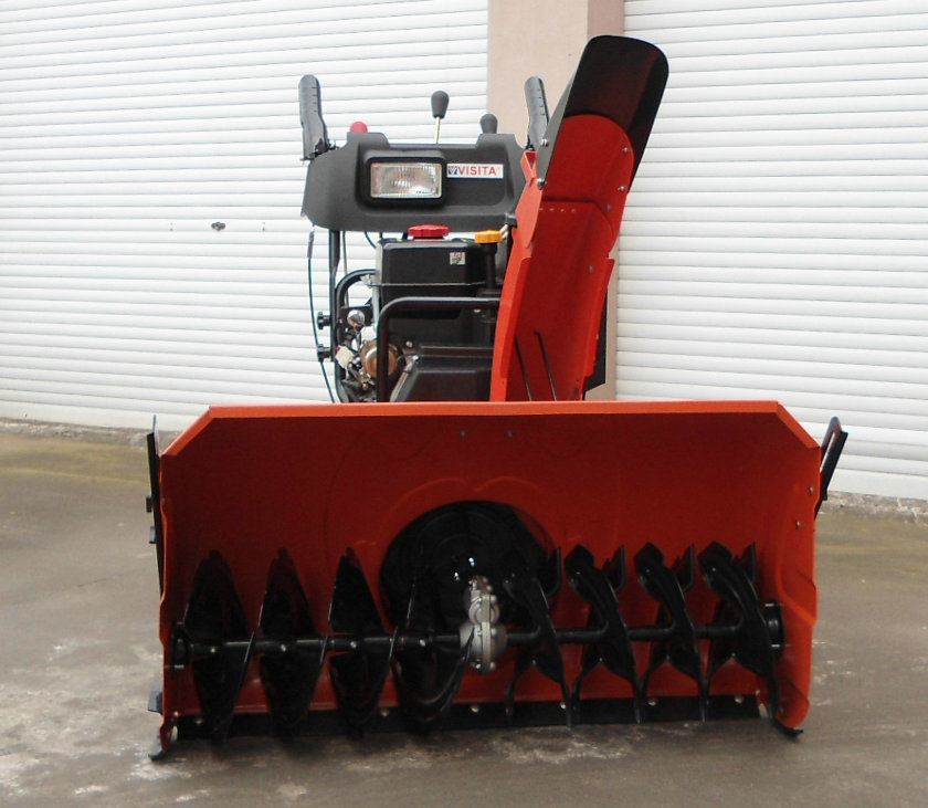 15HP 100cm Width Professional Gasoline Snow Thrower pictures & photos