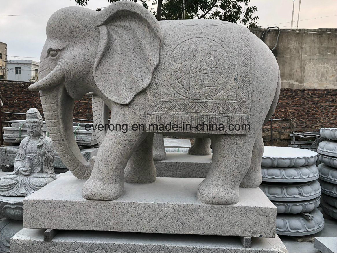 China Stone Marble Granite Elephant Carving Garden Elephant  Statue/Sculpture For Sale   China Stone Elephant Sculpture, Marble Animal  Statue