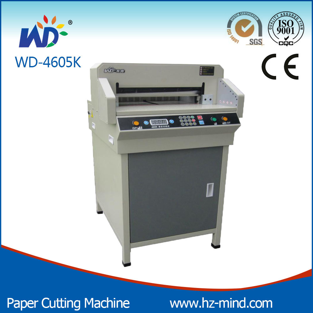 Office Equipment Graph Paper Cutter 18inch (WD-4605K) Paper Cutting Machine