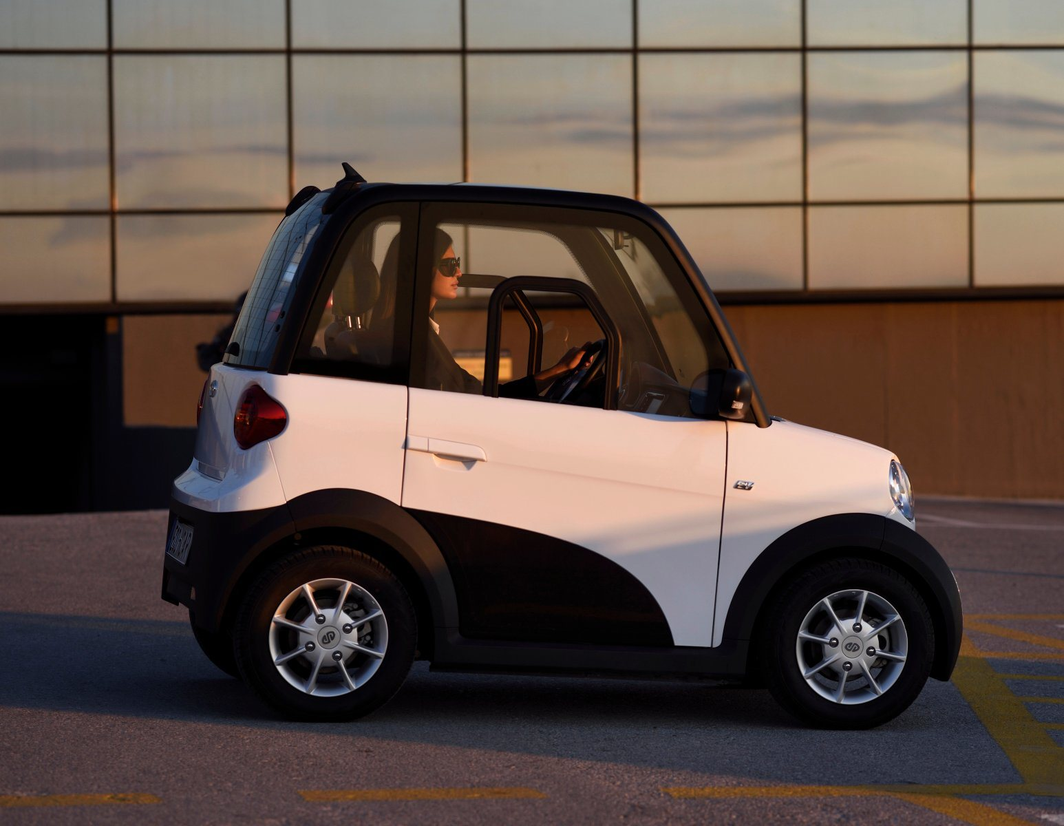China 4x4 Electric Vehicle 2 Seater Mini Car With Battery Charger