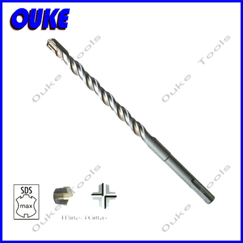 Auto-Welded Cross Tip SDS Max Drill Bits