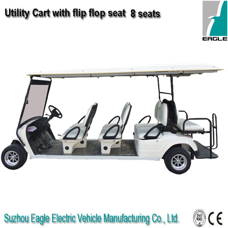China Eg2068ksz 4 Wheel Drive Manual Electric Golf Cart With 8