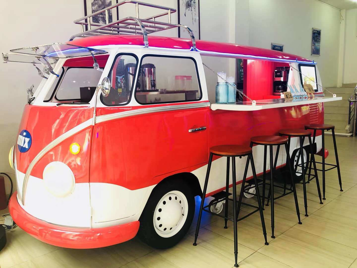 China Food Cooking Cart/Mobile Dining Car Electric Moving Dining Restaurant Car - China Mobile Kitchen Car, Electric Restaurant Car