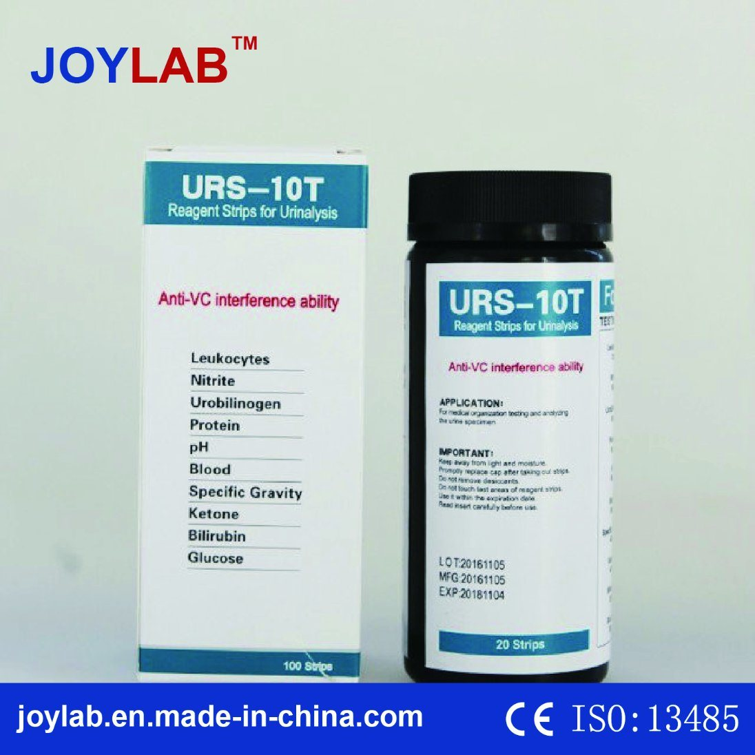 Urine Test Strips 10 Parameters (50/100/150 strips) Accurate Results in Seconds Rapid Response Durable Cost Effective pictures & photos