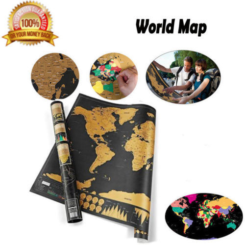 China scratch off world map poster deluxe united states map scratch off world map poster deluxe united states map complete accessories set all country flags premium wall art gift for the loved ones gumiabroncs Gallery