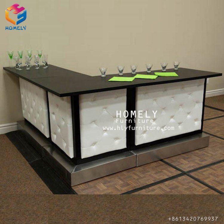 huge selection of 1840a 7dc7f [Hot Item] White L Shape Moulded Panel Beauty Salon Reception Desk