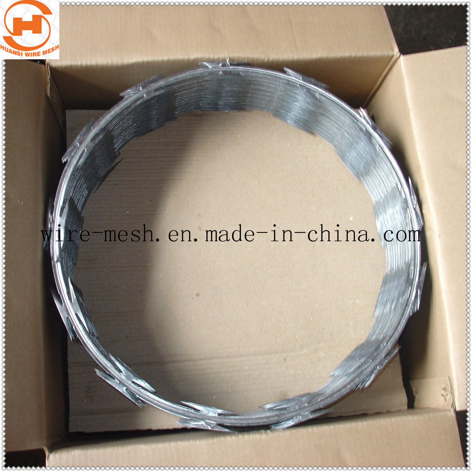 China Cbt-65 Without Clip Concertina Razor Wire - China Concertina ...