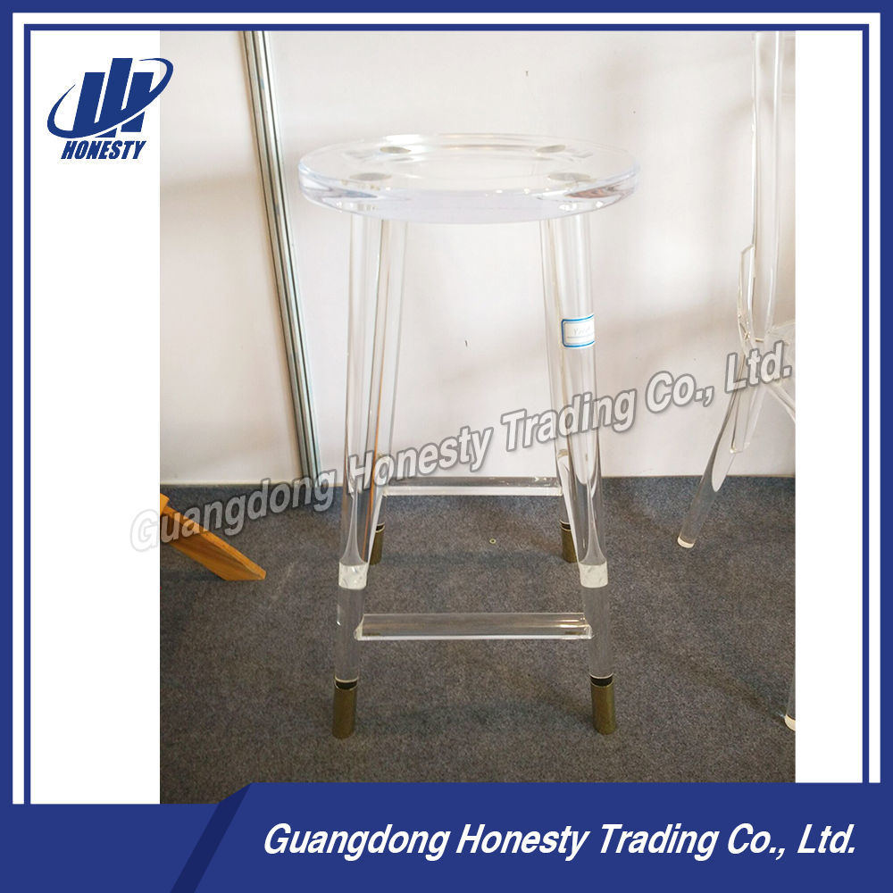 Astonishing Hot Item Y1029 Modern Promotional Acrylic Bar Stool High With Foot Pad Andrewgaddart Wooden Chair Designs For Living Room Andrewgaddartcom