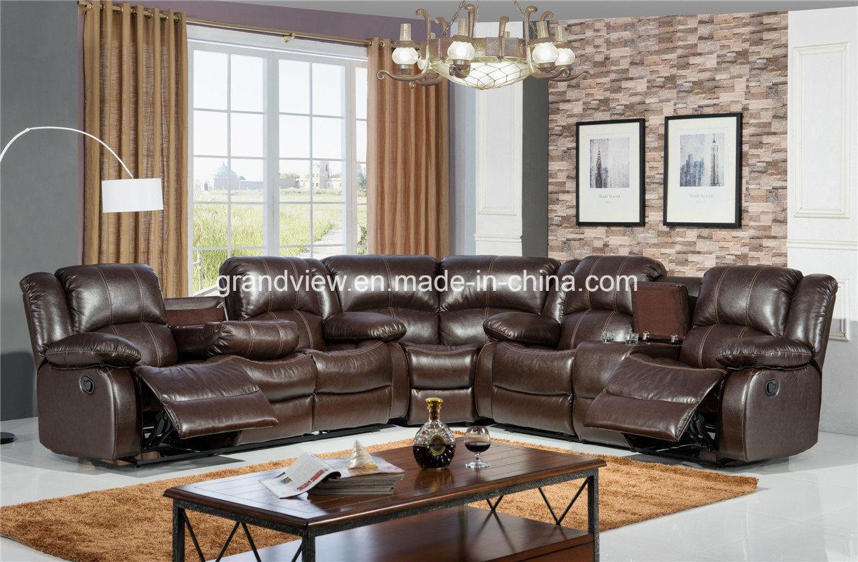 China Living Room Furniture New Models Corner Sectional