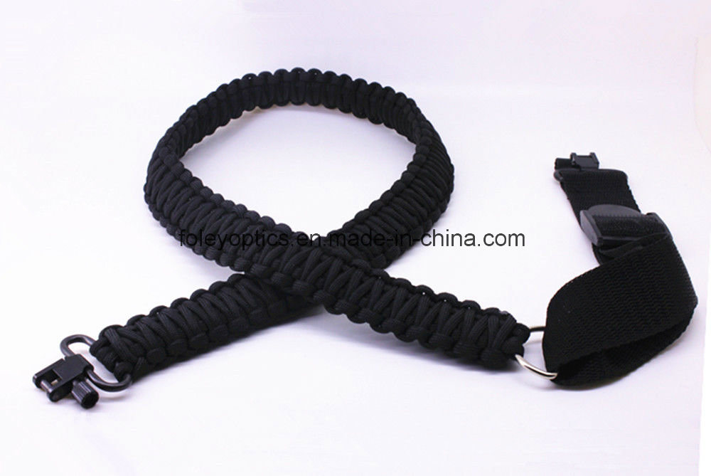 Adjustable Paracord Tactical 550 Rifle Gun Sling Strap With Swivels  Brand New!