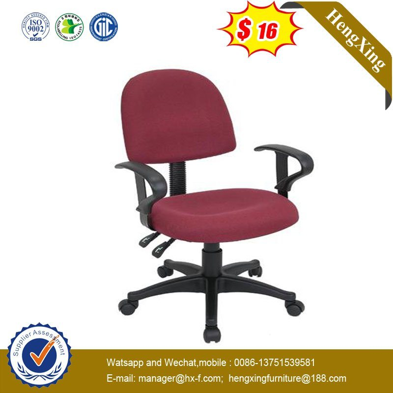 Adjustable Armrest Secretary Medium Staff Chair (Hx-Km011) pictures & photos