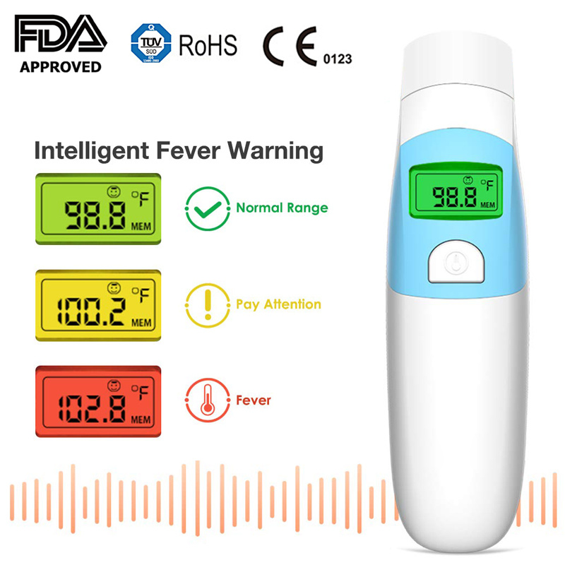 Eco - Friendly Remote Infrared Thermometer / 1.5V Baby Ear ...