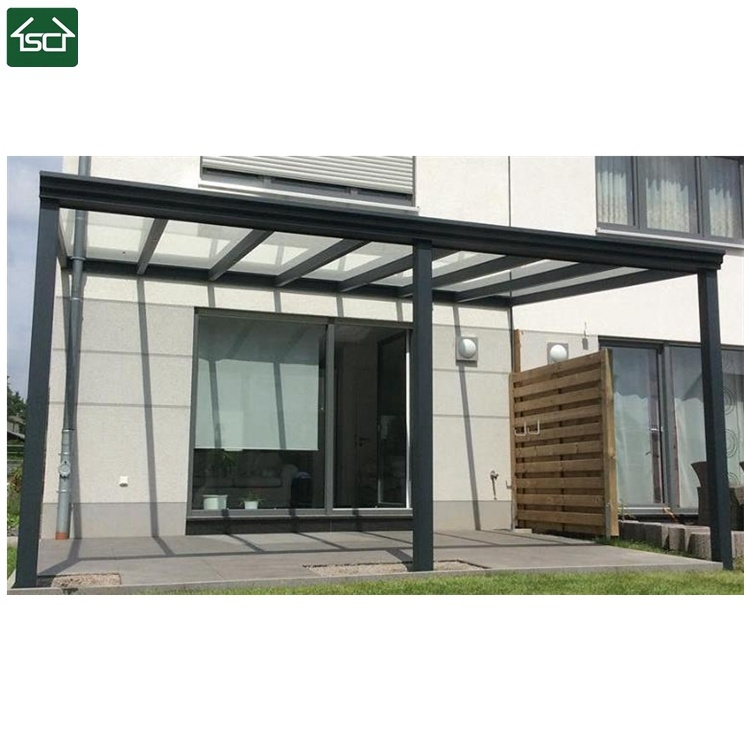 China Glass Roof Aluminum Alloy Veranda With Sliding Doors China Pergola Patio Roof
