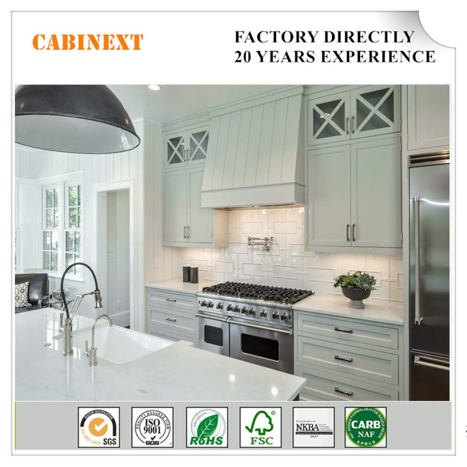 China Home Depot Kitchen Cabinets Paint White Color with ...
