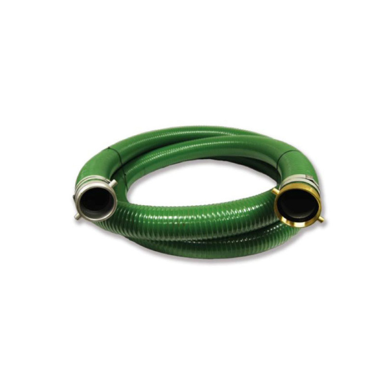 """3"""" x 50 Ft Blue Water Discharge Hose w//Camlock Fittings"""